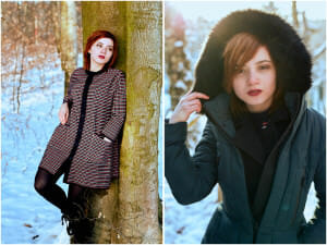 Modelshoot Sedcard Fashion Snow Winter Lifestyle Commercial Work Werbung Wintersonne