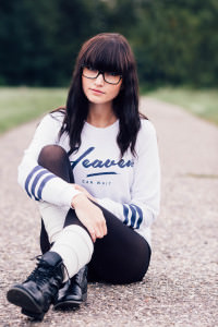 Editorial Streetfashion mit Anny