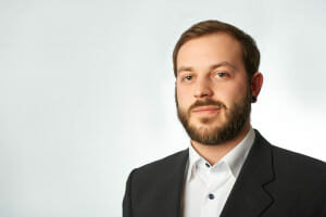 Headshots Businessportraits im Studio mit Kevin