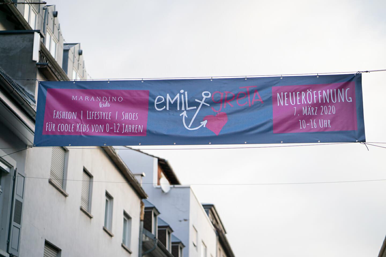 Eventfotografie Karlsruhe Geschäftseröffnung Neueröffnung Kindermodengeschäft Emil und Greta Interiorfotografie Interiorfotos