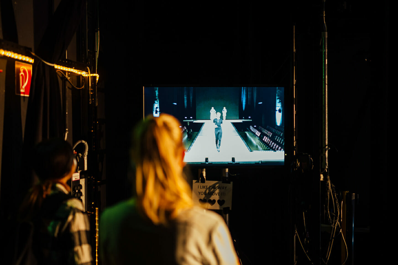 Eventfotografie Modeschule Singen Abschlussshow Behind the Scene BTS