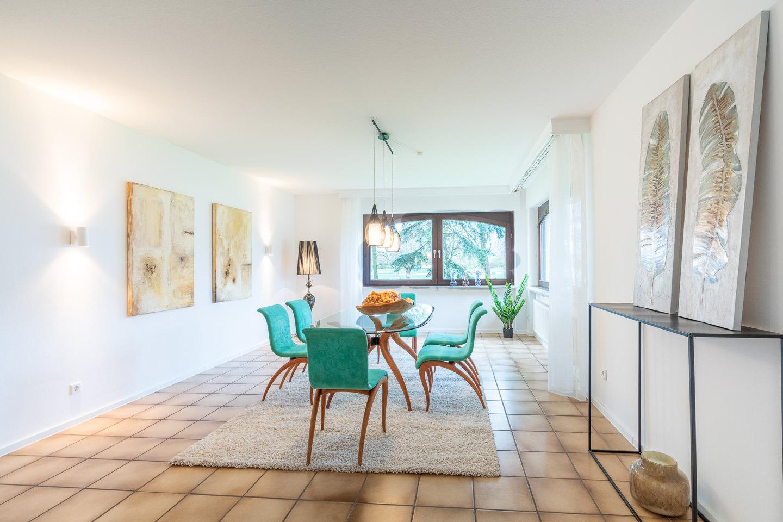 Immobilienfotografie Kraichgau Immobilienfotos Luxusvilla Kronau Esszimmer