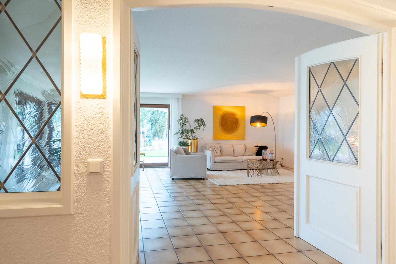 Immobilienfotografie Kraichgau Immobilienfotos Luxusvilla Kronau Wohnzimmer 2