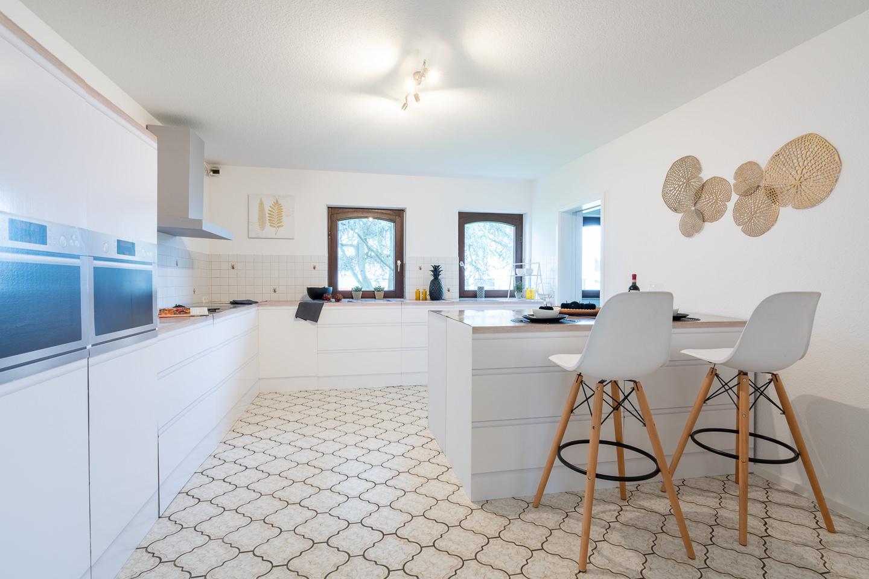 Immobilienfotografie Kraichgau Immobilienfotos Luxusvilla Kronau Küche